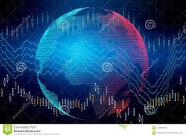International Business And Finance Concept Stock
