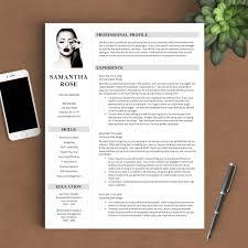modern resumes resume tips resume templates resume writing advice modern resume template the samantha rose