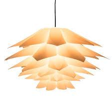 7 colors diy lotus chandelier shape ceiling pendant