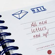 home letter to my ex