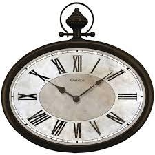 westclox 32926 16 oval pocket watch wall clock