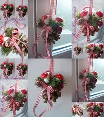 Fensterdeko 2 X Dekorierte Tannenzapfen Weihnachtsdeko Dekoration Geschenk Online Kaufen