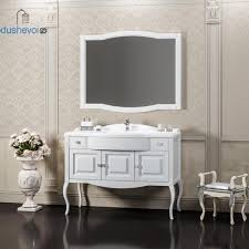 Мебель для ванной <b>Opadiris Лаура 100</b> белая без патины, цена ...