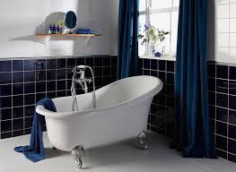 Dark Blue Bathroom Tiles The Colour Compendium Cobolt From House In Design Inspiration