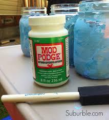 Painted Mason Jars Crafty Kids Diy Mason Jar Lanterns Suburble
