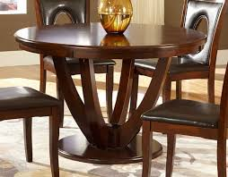 2568 48 vanbure classic rich cherry wood 48 round dining table