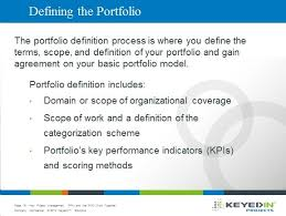 4 Step Guide To Simplifing Your Portfolio Definition Process