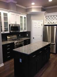 upper cabinet lighting. Black Lower White Upper Kitchen Cabinets Dark Light Most The Best Great Cabinet Lighting