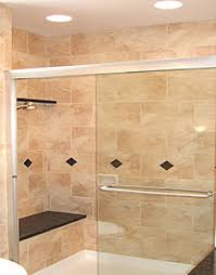 recessed lighting over shower. recessed light over the shower bathroom wall tile to ceiling fairfax remodel lighting o