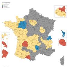 presidential elecion results french presidential election results 2017 round 1 by department