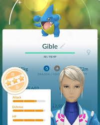 Shiny gible !!!!! Merci bitchesssss #pokemongo #pokemonmtl #pokemon