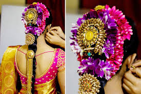 south indian bridal hairstyles for reception