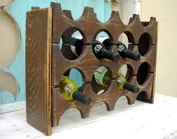 image of diy wine rack box
