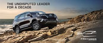 Toyota Crystal Light Used Cars Toyota India Official Toyota Fortuner Site Fortuner Price