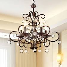 wrought iron pottery barn rope chandelier beaded chandeliers