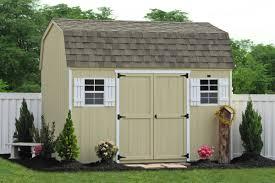 Backyard Wooden Sheds For Storage