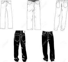 Design Own Pants Pants Template Mockup For Designs In Vector Format Colors Are