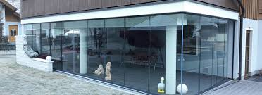 Wintergarten Glasschiebeelemente Glasschiebetür Und Glasschiebwand