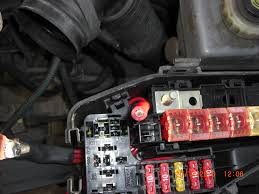 b terminal repair main fuse box 11 crimped ered terminal for the main fuse box