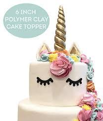 Amazoncom Limitless Unicorn Cake Topper Handmade 5 Piece Set Set