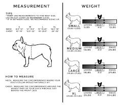 Frenchie Pet Supply Sizing Frenchie Bulldog