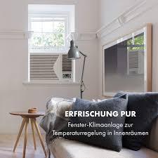 Klarstein Frostik 12 Fenster Klimaanlage Klimagerät