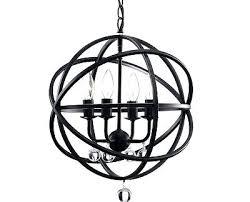 bronze orb light antique bronze orb globe crystal chandelier cage metal industrial rustic light n bronze