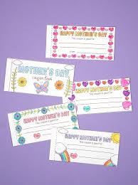Free Printable Mothers Day Coupons Happiness Is Homemade