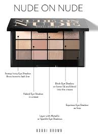 bobbi brown brushes uses. love this nude on eyeshadow palette by bobbi brown - learn how the make- brushes uses