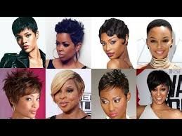 Short Hairstyles For African American Women 27 Wonderful African American Pixie Hairstyles 24 Short Haircut For 24