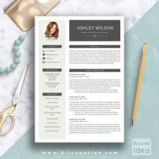 Resume Modern Templates Free Template Download Psd Word 2014 Cv
