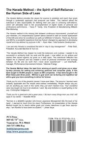 Harada Method 64 Chart Buy The Harada Method The Spirit Of Self Reliance Book