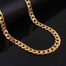 image is loading 24 inch plated men cuban link chain 18k