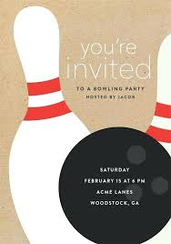 bowling invitation templates bowling party invitation and bowling invitations templates free
