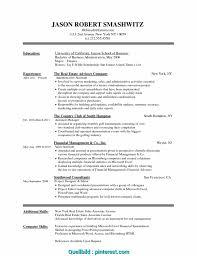 025 Resume Template In Word Model Curriculum Vitae Format