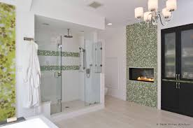Decorative Tile Designs Incredible Bathroom Design With Green Decorative Tile Mosaic Wall 25