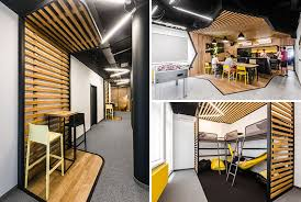 new office design. Mode:lina Architekci Have Recently Completed A New Office In Wroclaw, Poland, For Design