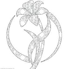Garden Coloring Pages Flower Garden Coloring Pages Lily Page