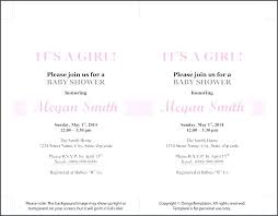 Invitation Template For Word Delectable Formal Invitation Template Free Baby Shower Templates Word Sample