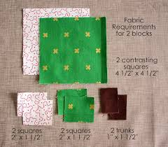 "Patchwork Tree Quilt Block Tutorial - Diary of a Quilter - a quilt ... & Using this method you'll be making two tree blocks at the same time. First  pick two contrasting fabrics. From each fabric cut a 4 1/2"" x 4 1/2"" square  and ... Adamdwight.com"
