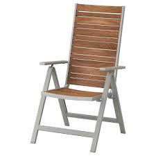 Ikea Själland Reclining Chair Outdoor Light Grey Foldable Light