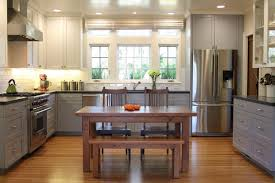 2 Tone Kitchen Cabinets Two Tone Kitchen Cabinets Brown And White Microwave Folding Shelf