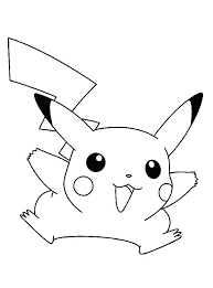 pikachu coloring pages printable coloring pages funny a pokemon pikachu coloring pages printable