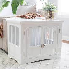 New Age Pet EcoFlex Habitat-n-Home InnPlace Pet Crate/Table - Russet |  Hayneedle