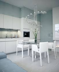 modern lighting dining room. Modern Chandeliers For Dining Rooms Room Chic White Kitchen Table Idea With Oval Glass . Lighting T