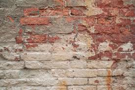 texture of old crumbling brick walls painted gray paint stock photo 33521047