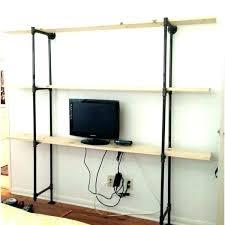 metal overhead garage storage shelves lovely ideas 3 shelf black amazing industrial shelving unique rolling diy