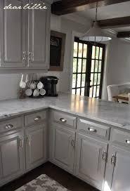 black cabinet pulls on gray cabinets. drawer pulls - darker gray cabinets with marble cabinet color- winter\u0027s gate in semi-gloss by benjamin moore wall horizon eggshell black on
