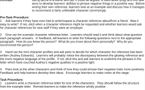 Character Reference For Court Samples Tag Character Letters