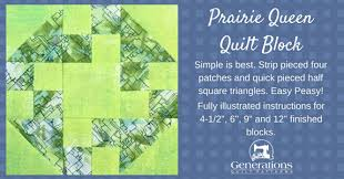 Easy Peasy Prairie Queen Quilt Block: 6, 9  and 12  & The Prairie Queen quilt block tutorial starts here. Adamdwight.com